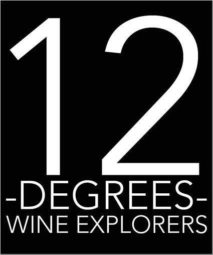 12 Degrees - Logo - Marchand vin